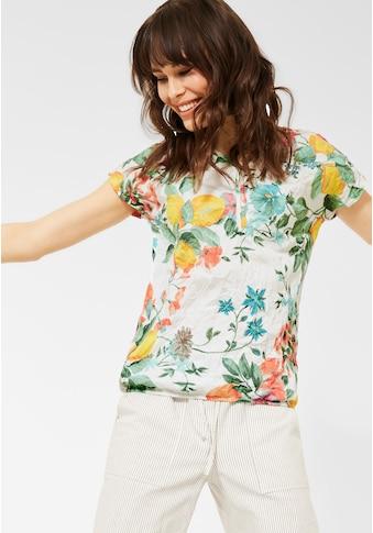 Cecil V-Shirt, mit Blumenmotiv kaufen