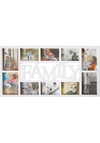 Home affaire Collagerahmen »FAMILY«, für 10 Bilder kaufen