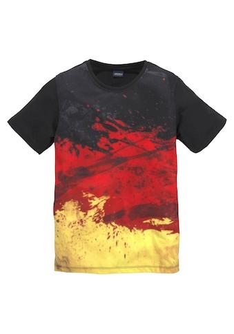 Arizona T-Shirt »schwarz/rot/gold/ Deutschland« kaufen