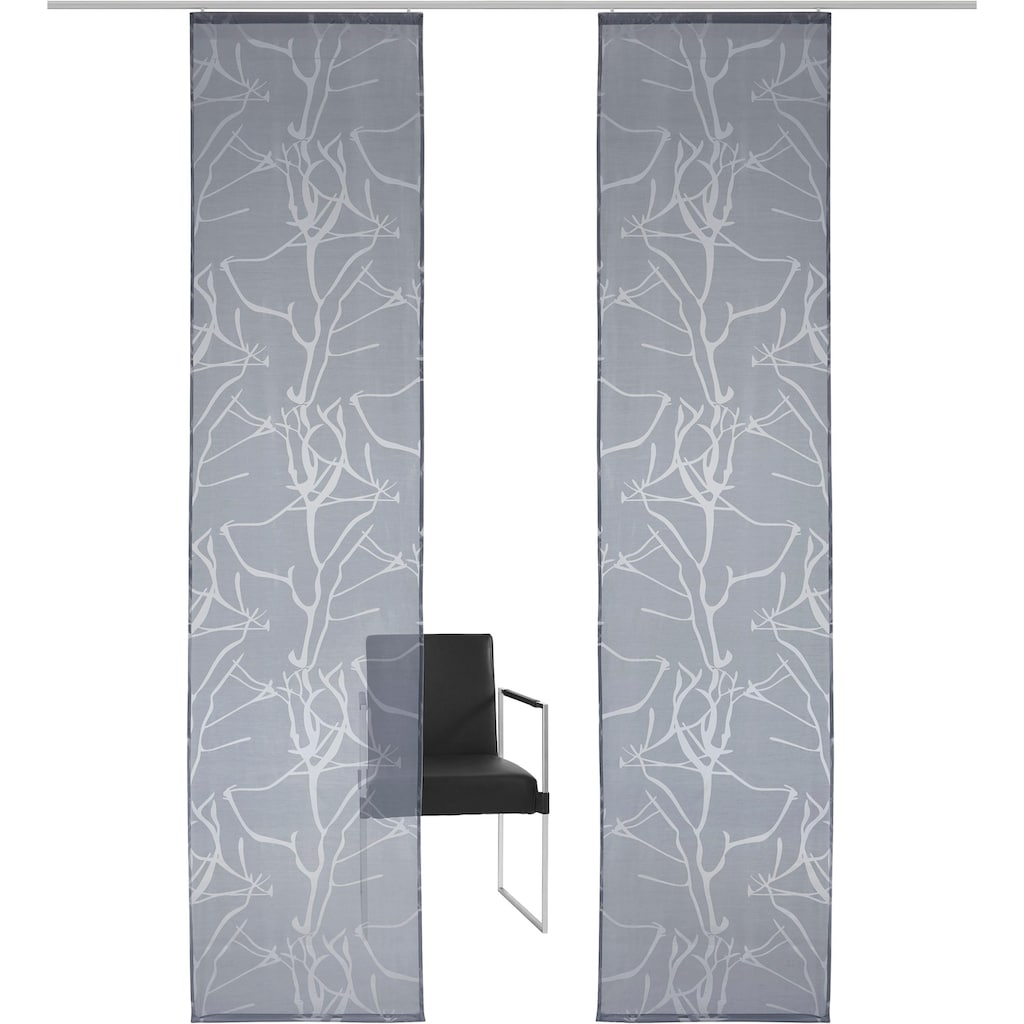 my home Schiebegardine »Anna«, Inkl. Befestigungszubehör, Breite: 57 cm