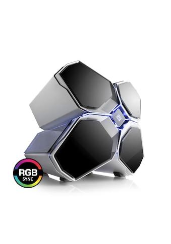 BoostBoxx Gehäuse mit Appsteuerung, Seitenfenster, RGB - Beleuchtung »BoostBoxx Quadstellar« kaufen