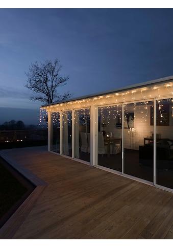 KONSTSMIDE LED Dekolicht, Warmweiß, LED Eisregen Lichtervorhang, APP gesteuert kaufen