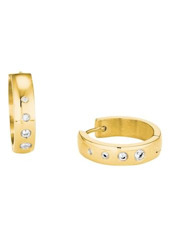 s.Oliver Paar Creolen »2028477«, mit Kristallen kaufen