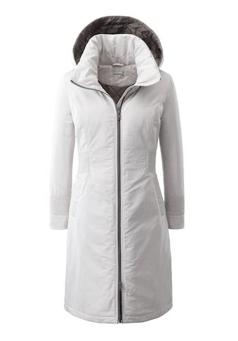 Casual Looks Mantel mit abnehmbarer Kapuze kaufen