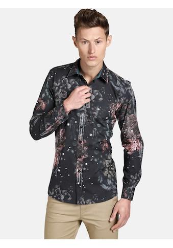 SHIRTMASTER Langarmhemd »noflowersplease« kaufen