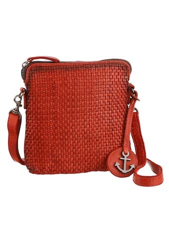 HARBOUR 2nd Mini Bag »B3-9786 sw2-Thelma«, aus Leder mit gefochtener Front und typischem Anker-Anhänger kaufen