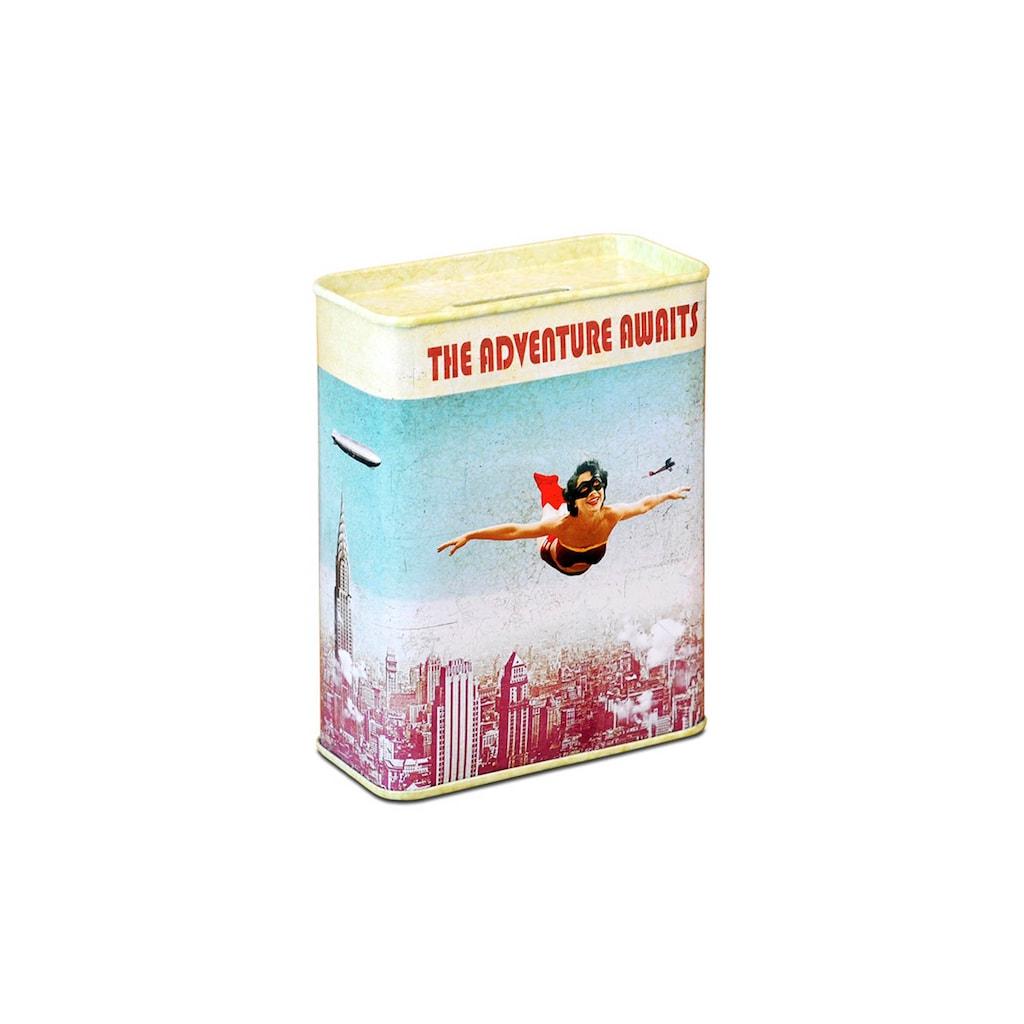 LOGOSHIRT Spardose im Vintage Superhelden-Design