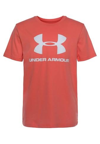 Under Armour® T-Shirt »LOGO SHORTSLEEVE«, Für Kinder kaufen