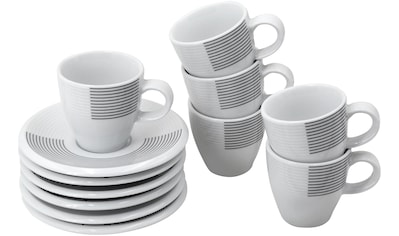 Retsch Arzberg Espressotasse »Novo Ultra«, (Set, 12 tlg.), Porzellan kaufen