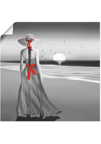 Artland Wandbild »Ein Blick zurück aufs Meer« kaufen