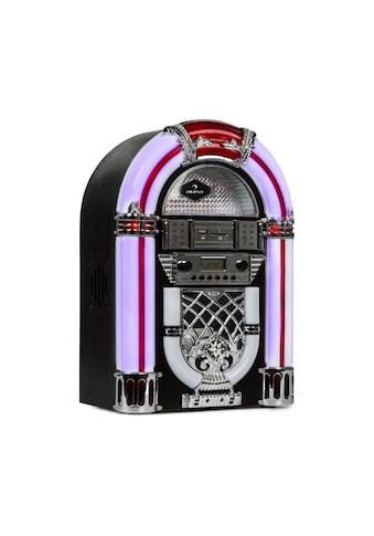 Auna Jukebox, BT, UKW - Radio, USB, SD, MP3, CD - Player, schwarz »Arizona« kaufen