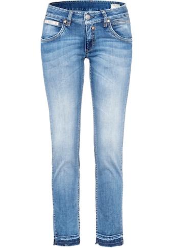 Herrlicher 7/8-Jeans »TOUCH CROPPED«, mit Cut Off Säumen kaufen