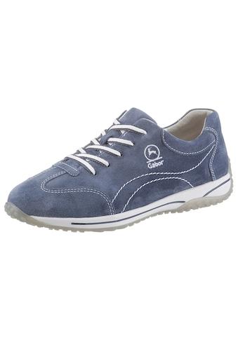 Gabor Sneaker »FLORENZ«, mit Kontrastnähten kaufen