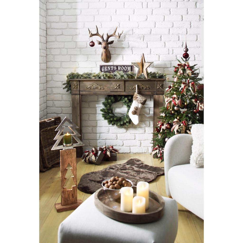 my Flair Kaminumbauschrank, mit verspielten Ornamenten