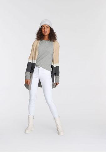 Tamaris Cardigan, mit trendy Blockstreifen - NEUE KOLLEKTION kaufen