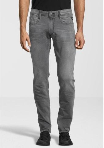 Replay 5-Pocket-Jeans »Anbass«, mit Label-Applikationen kaufen