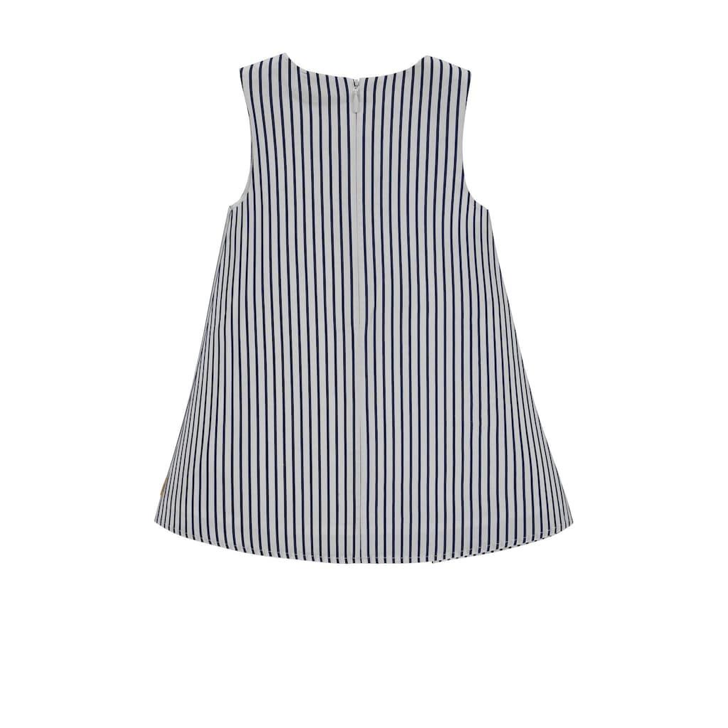 Bellybutton Kleid gestreift Asymetrisch
