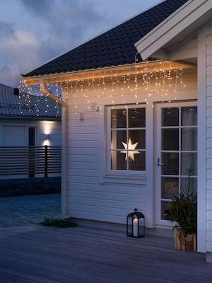 LED-Lichterkette für die Weihnachtsdekoration im Außenbereich