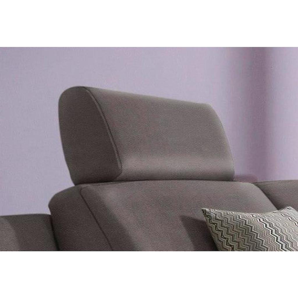ADA premium Kopfstütze »Tivoli«, passend zur Polsterecke, wahlweise zum einstecken mit Rasterverstellung