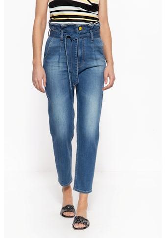 ATT Jeans High-waist-Jeans »Moon«, im Paperbag-Design mit Waschung kaufen