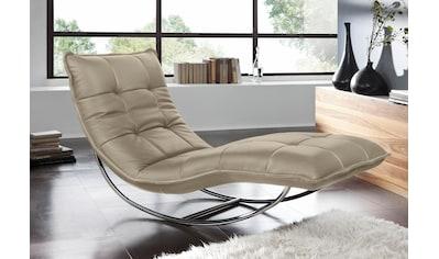 W.SCHILLIG Relaxliege »woow«, mit Kopfteilverstellung, in 3 Breiten, designed by... kaufen