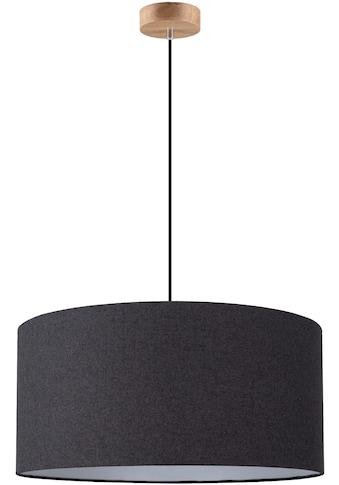 andas Hängeleuchte »GJOVIK«, E27, Hängelampe mit hochwertigem Textilschirm Ø 50 cm,... kaufen