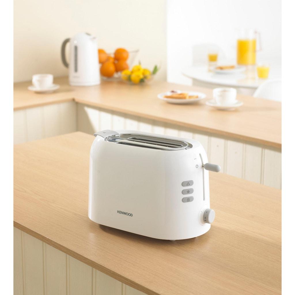 KENWOOD Toaster »TTP220«, 2 kurze Schlitze, für 2 Scheiben, 800 W