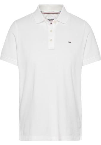 TOMMY JEANS Poloshirt »TJW SLIM POLO«, mit Tommy Jeans Logo-Flag auf der Brust kaufen