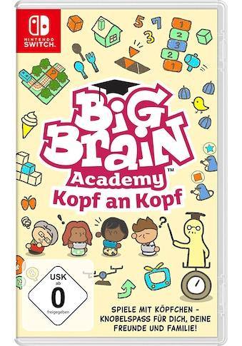 Nintendo Switch Spiel »Big Brain Academy: Kopf an Kopf«, Nintendo Switch kaufen