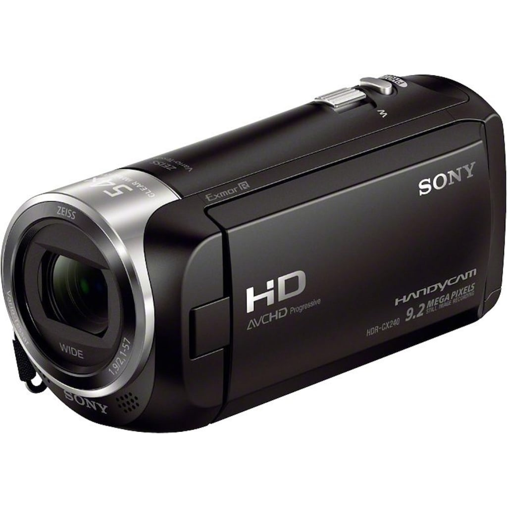 Sony Camcorder »HDR-CX240E«, Full HD, 27x opt. Zoom, Composite Video Ausgang