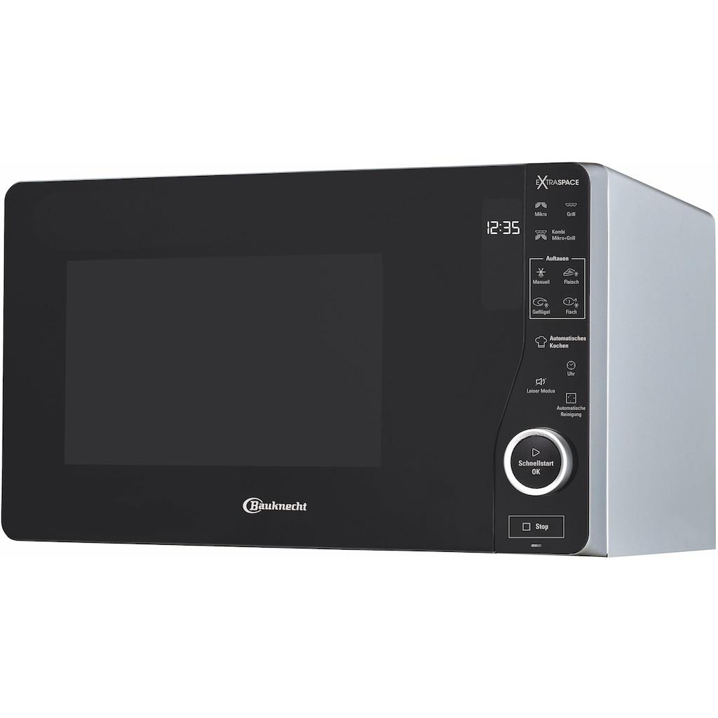 BAUKNECHT Mikrowelle »MW 421 SL«, Grill, 1100 W