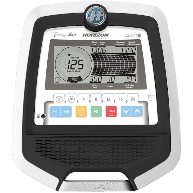 Horizon Fitness Crosstrainer-Ergometer »Andes 5 Viewfit«