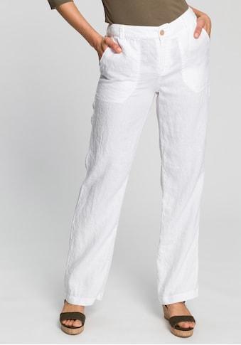 MAC Leinenhose »Nora«, Weich fleißende Leinenqualität kaufen