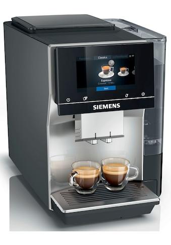 SIEMENS Kaffeevollautomat »EQ.700 TP705D47«, intuitives Full-Touch-Display, speichern... kaufen