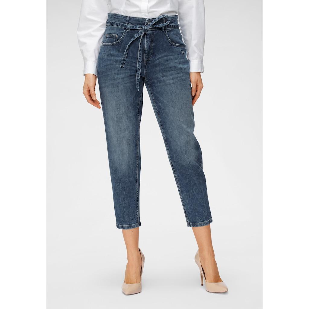 MAC Ankle-Jeans »Mina«, Mit separatem Jeans-Bindeband