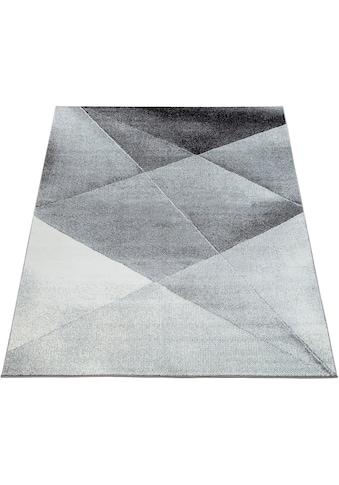 Paco Home Teppich »ECE 922«, rechteckig, 14 mm Höhe, Kurzflor, Abstrakte Muster,... kaufen