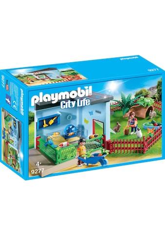 "Playmobil® Konstruktions - Spielset ""Kleintierpension (9277), City Life"", Kunststoff kaufen"