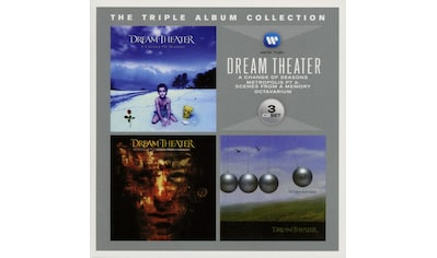 Musik-CD »The Triple Album Collection / Dream Theater« kaufen