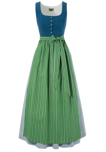 Love Nature Dirndl, (2 tlg.), lang mit traditionellem Mustermix - Made in Austria kaufen