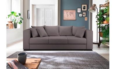 Home affaire 3-Sitzer »Foggia«, auch mit Bettfunktion/Bettkasten erhältlich, inklusive... kaufen