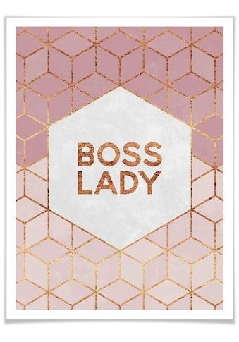 Wall-Art Poster »Boss Lady«, Personen, (1 St.) kaufen