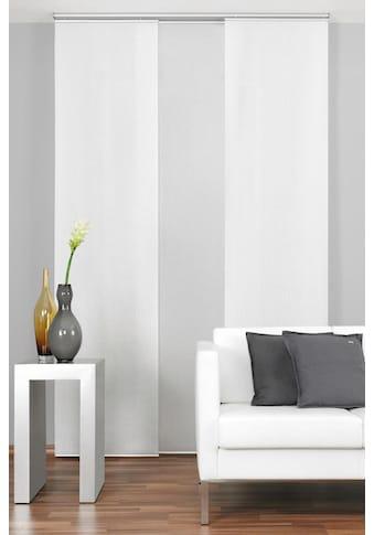Good Life Schiebegardine »Alexa«, HxB: 245x60, mit Aufhängung in silberfarben kaufen