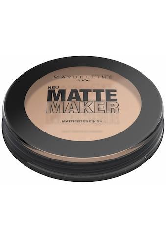 MAYBELLINE NEW YORK Puder »Matte Maker« kaufen