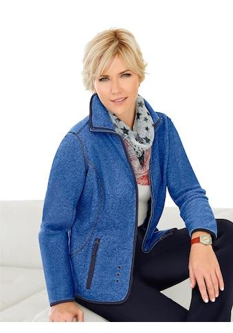 Casual Looks Fleece - Jacke mit Antipilling - Ausrüstung kaufen