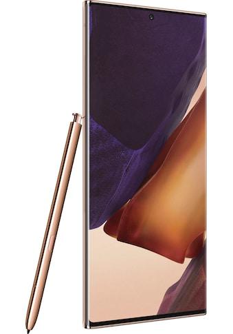 "Samsung Smartphone »Galaxy Note20 Ultra 5G«, (17,45 cm/6,9 "", 256 GB, 108 MP Kamera),... kaufen"