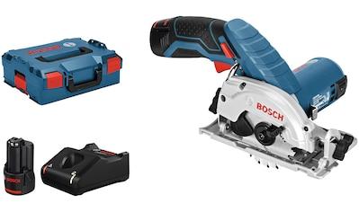 Bosch Professional Akku-Handkreissäge »GKS 12V-26«, 12 V, 26 mm, inkl. 2 Akkus & Ladegerät kaufen