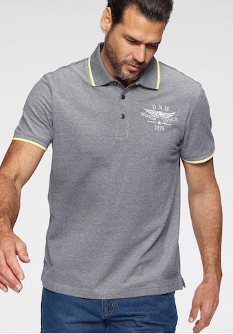 Arizona Poloshirt, in melierter Optik kaufen