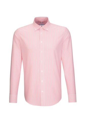 seidensticker Businesshemd »Shaped«, Shaped Langarm Button-Down-Kragen Streifen kaufen