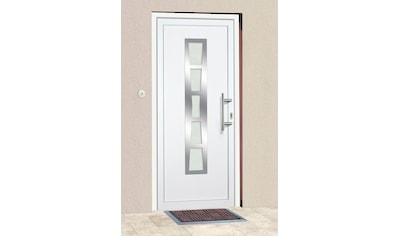 KM Zaun Haustür »K640«, BxH: 108x208 cm, weiß, in 2 Varianten kaufen