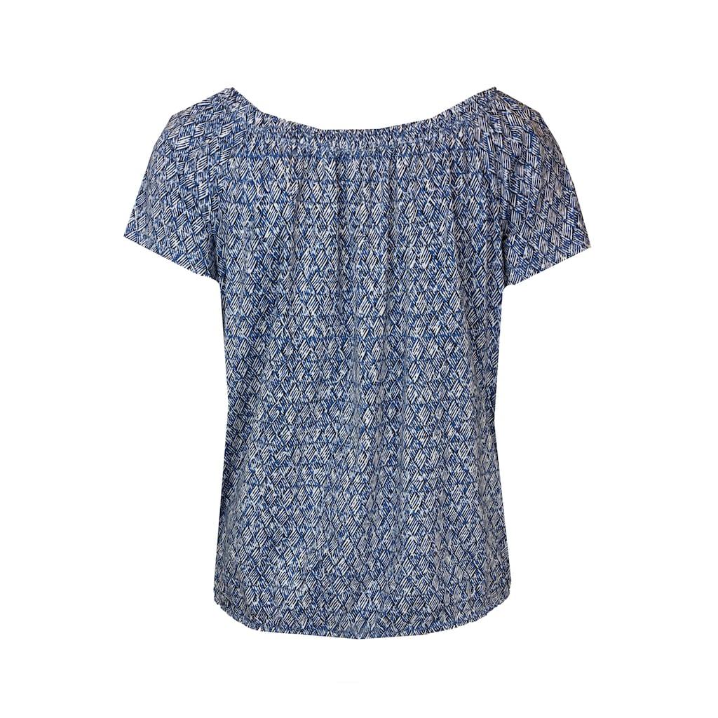 bianca Carmenshirt »SIANA«, im femininen Minimal-Print